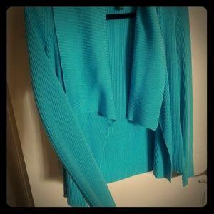 Amazing aqua Ralph Lauren 2-pc Knit sweater M